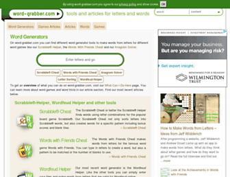 word-grabber.com screenshot