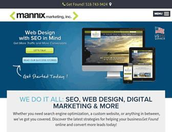 Thumbshot of Mannixmarketing.com