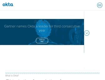 Thumbshot of Okta.com