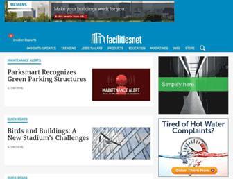 facilitiesnet.com screenshot