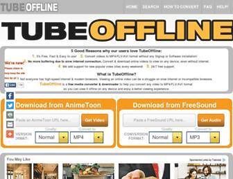 Thumbshot of Tubeoffline.com