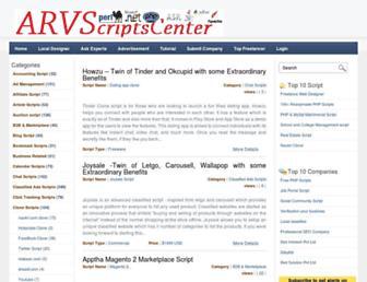 arvscriptscenter.com screenshot
