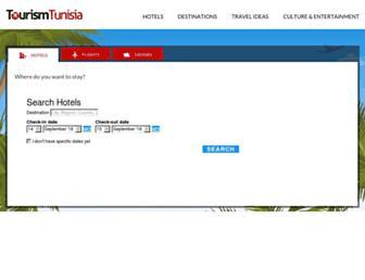 tourismtunisia.com screenshot