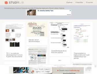 studylibfr.com screenshot