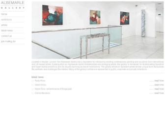 albemarlegallery.com screenshot