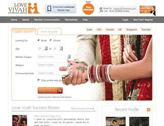 lovevivah.com screenshot