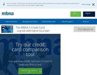 Thumbshot of Mbna.com