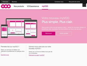 myvoo.be screenshot