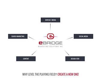 ebridgemarketingsolutions.com screenshot