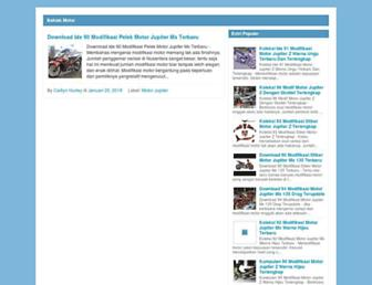bakiakmotor.blogspot.com screenshot