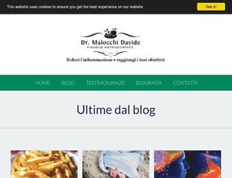 drmaiocchi.com screenshot