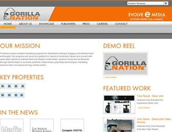 Thumbshot of Gorillanation.com