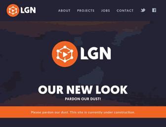 Main page screenshot of learninggamesnetwork.org