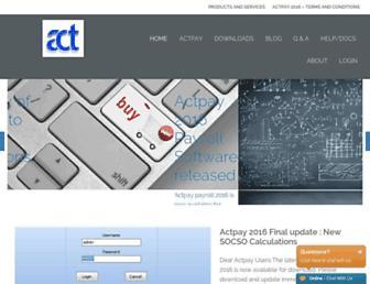 actpayroll.com screenshot