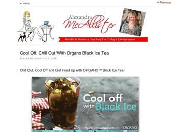 Thumbshot of Alexandramcallister.com