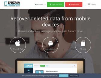 enigma-recovery.com screenshot