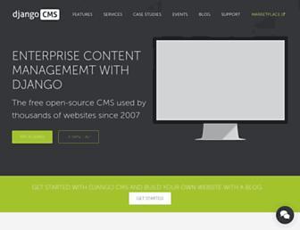 Thumbshot of Django-cms.org