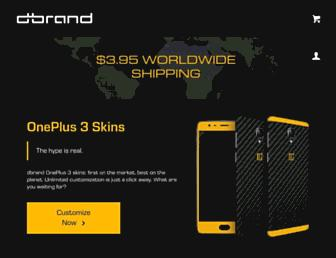 Thumbshot of Dbrand.com