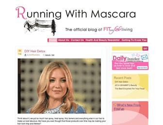 Thumbshot of Runningwithmascara.com
