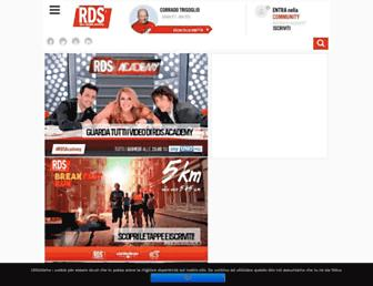 Main page screenshot of rds.it