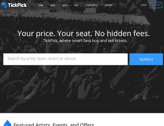 Thumbshot of Tickpick.com