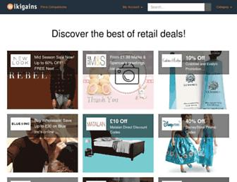 Thumbshot of Wikigains.com