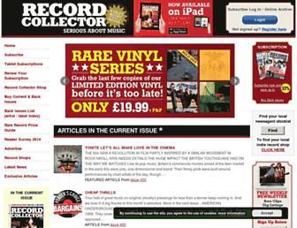 recordcollectormag.com screenshot