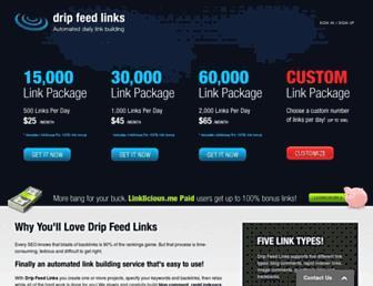 Thumbshot of Dripfeedlinks.co