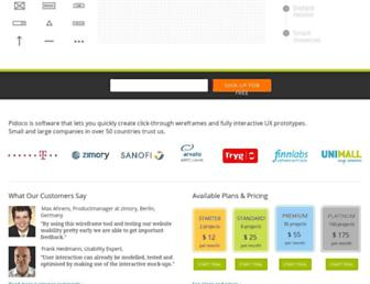 pidoco.com screenshot