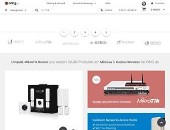 shop.omg.de screenshot