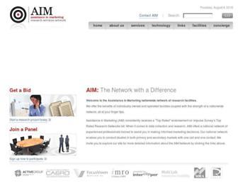 aimresearchnetwork.com screenshot