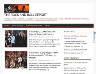 rockandrollreport.com screenshot