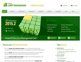 ldapadministrator.com screenshot