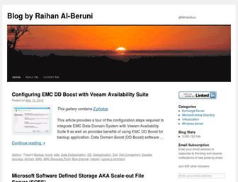 araihan.wordpress.com screenshot