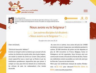 Thumbshot of Caremedanslaville.org