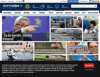 zurnal24.si screenshot