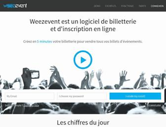 weezevent.com screenshot