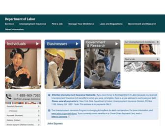 labor.ny.gov screenshot