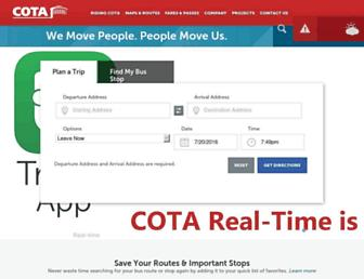 cota.com screenshot