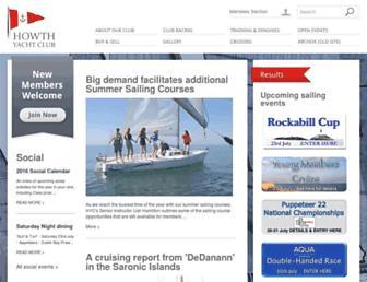 Main page screenshot of hyc.ie