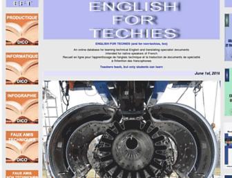 english-for-techies.net screenshot