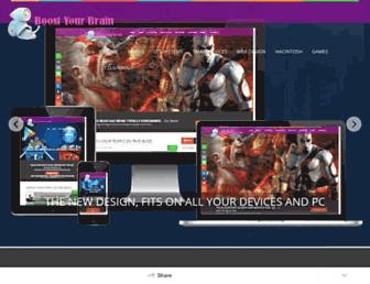 boost-yourbrain.blogspot.com screenshot