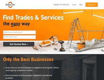 Thumbshot of Servicecentral.com.au