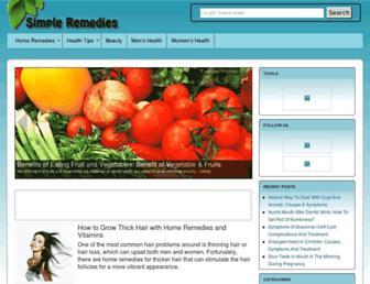 Thumbshot of Simple-remedies.com