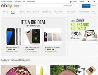 m.ebay.ca screenshot