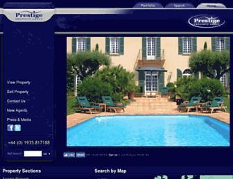 Thumbshot of Prestigeproperty.co.uk