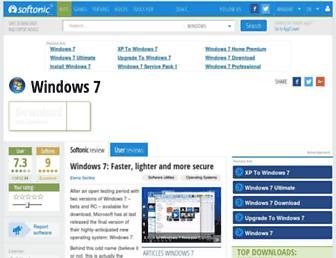 windows-7.en.softonic.com screenshot