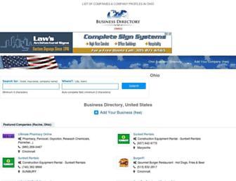 ohio-webbusiness.com screenshot