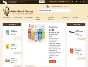 Thumbshot of Asianfoodgrocer.com