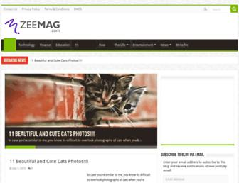 zeemag.com screenshot
